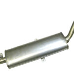 Как заменить глушитель на ВАЗ 2106?