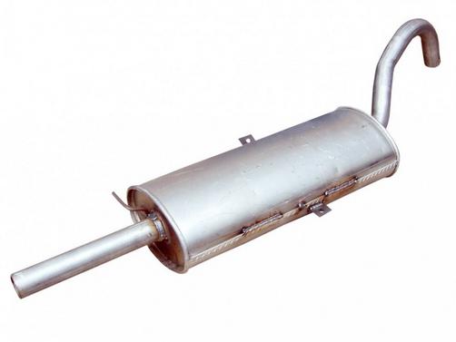 Как поменять глушитель ВАЗ 2107?