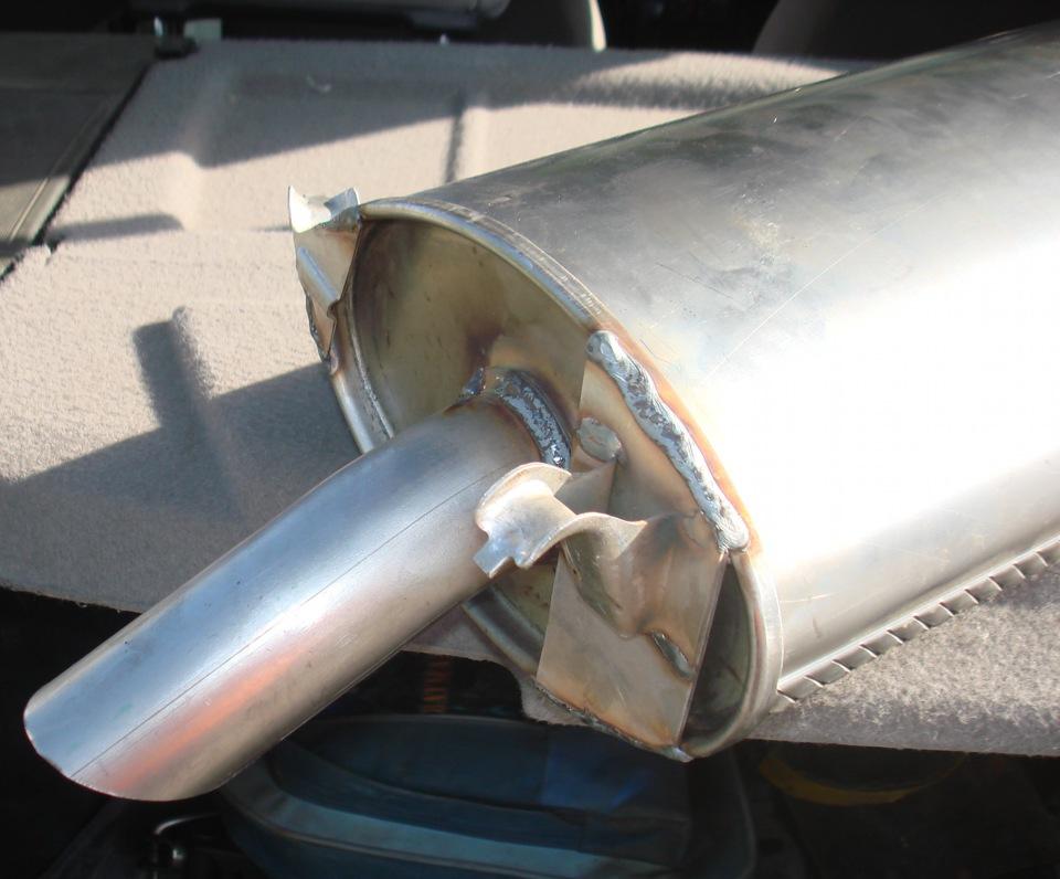 Сколько стоит ремонт глушителя на ВАЗ 2114?